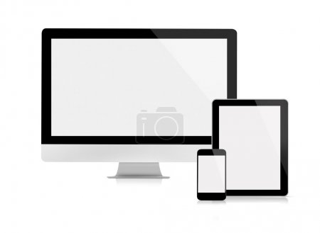 Computer monitor tablet and mobile