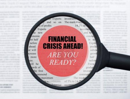 Finanzkrise unter der Lupe