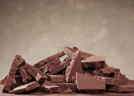 Photo for Chocolate bars with copyspace - Royalty Free Image