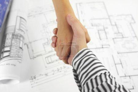 Handshake and blueprints