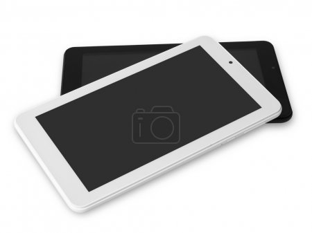 Black and white digital tablets