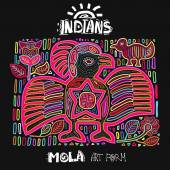 Vector Ethnic Design Element Indians MOLA Art Form Mola Style Bird Ethno Bright Decorative Illustration