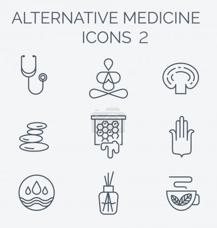 Alternative Medicine icons part 2.