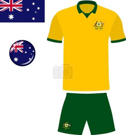 Australia Football Jersey Icon