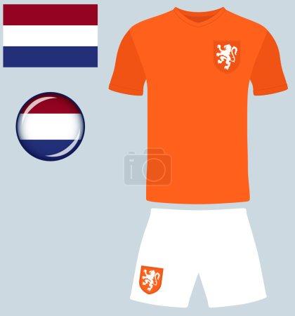 Holland Football Jersey