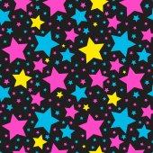 seamless star pattern vector 05
