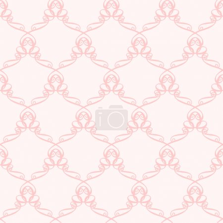 pink Pattern with curve elements