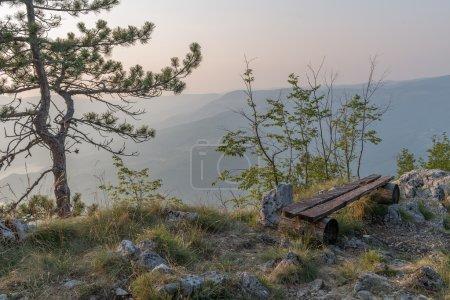 Photo pour Coucher de soleil au Parc National Tara - image libre de droit