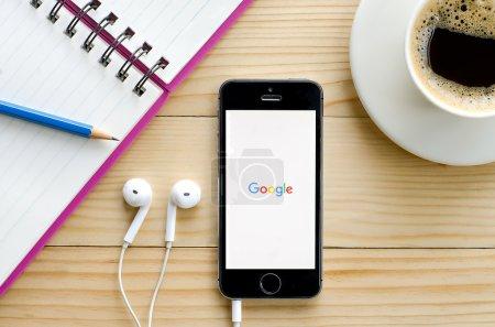 Снимок экрана приложения Google