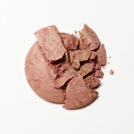 crushed pink blush eyeshadow
