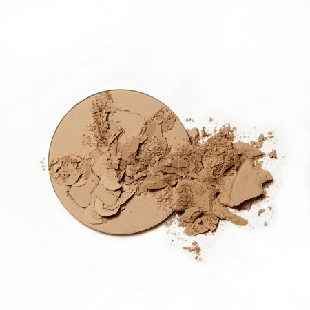 broken natural powder