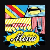 Restaurant Pop Art