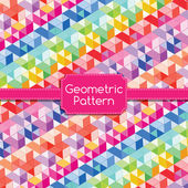 Geometric Pattern Abstract Background.