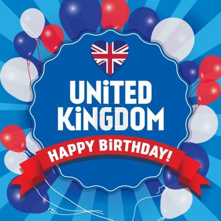 Happy Birthday United Kingdom - Happy Independence Day