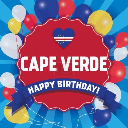 Happy Birthday Cape Verde - Happy Independence Day