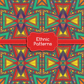 Ethnic Tribes Patterns Ornament. Native colorful vector Illustration.