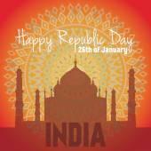 India Republic Day Celebration Card