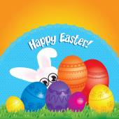 Happy Easter Pop Art