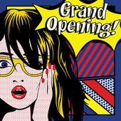 Pop Art Woman - GRAND OPENING!