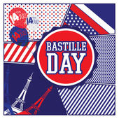 Happy Bastille Day Eiffel Tower