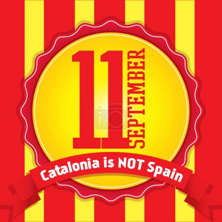 Catalonia National Day. 11 September.