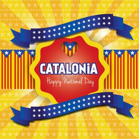 Catalonia National Day. 11 September.
