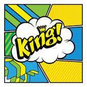 Pop Art comics icon