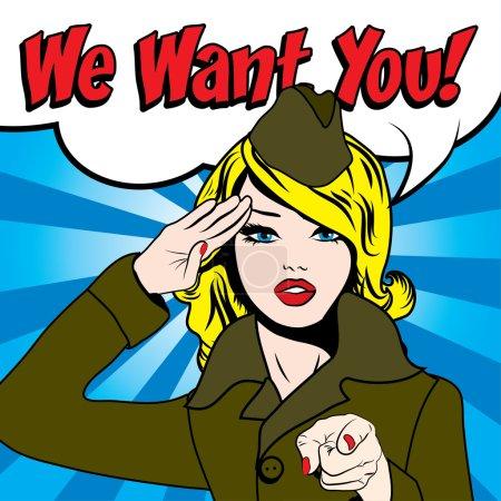 Femme - nous voulons que vous