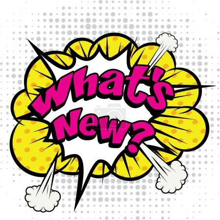 """Pop Art comics - """"What's New!""""."""