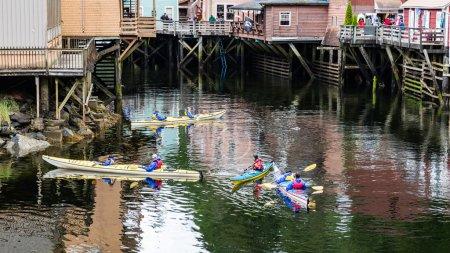 Kayaking on Creek Street