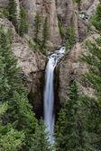 Je Yellowstone Falls Tower