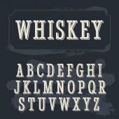 Whiskey label font Vintage font Whiskey font Fine label font Western font Decoration font Font style