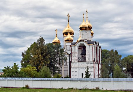 St. Nicholas Cathedral. Pereslavl Zalessky. St. Nicholas Convent.