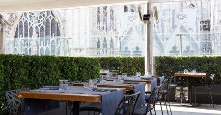 Elegant modern restaurant