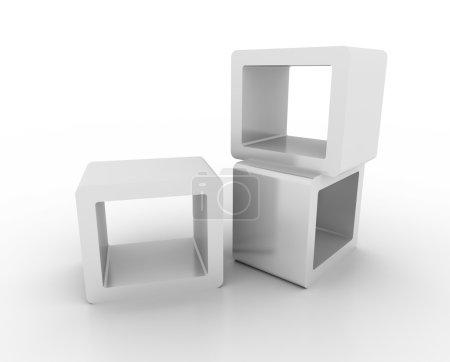 Photo pour Espace de copie Illustration 3D, image de thème de vente au détail et marketing - image libre de droit