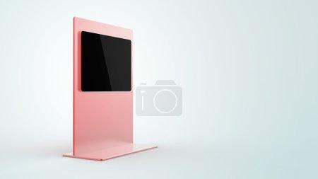 Photo pour Espace de copie Illustration 3D, vente au détail et image de thème de technologie - image libre de droit