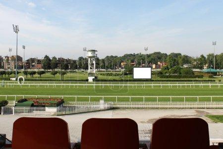 Horse racetrack in Milan