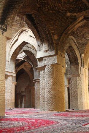 Mosque interiors in Iran