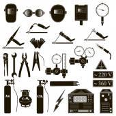 Set welding items