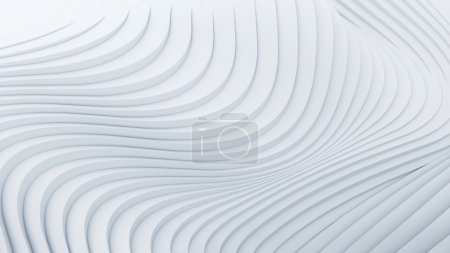 Photo for Wave band abstract background surface - Royalty Free Image