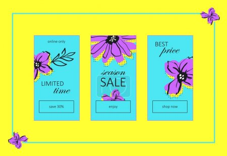 Season Sale Web Banners Set