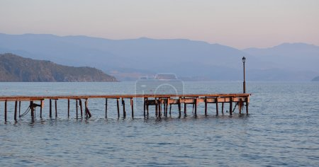 Molyvos Jetty, Greek Island of Lesvos
