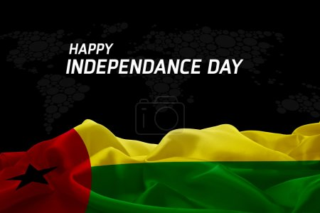 Guinea Bissau  Independence Day card