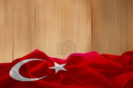 national flag of Turkey
