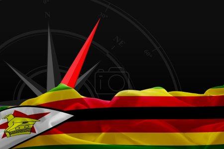 national flag of Zimbabwe