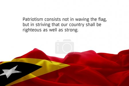 Timor Leste flag
