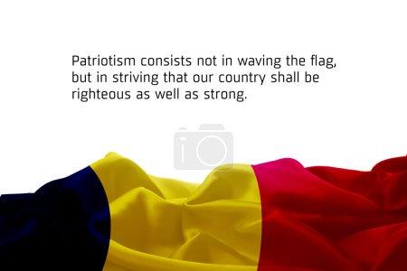 waving flag of Oman