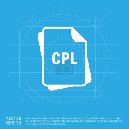 CPL file format icon