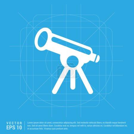Telescope web icon
