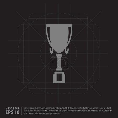 Champion cup icon